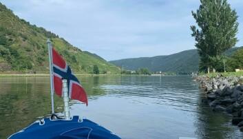 Utsikt over Moseldalen i Tyskland.