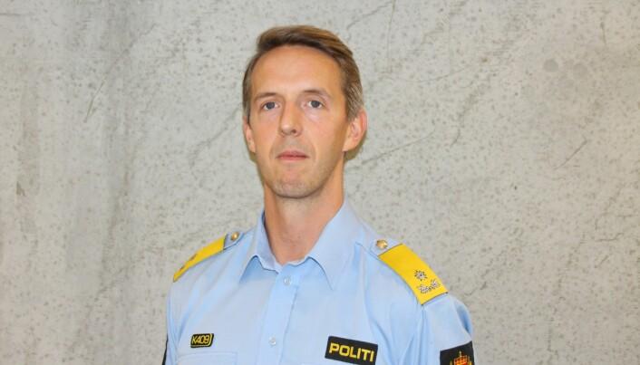 Seksjonssjef John-Magnus Løkenflaen i POD.