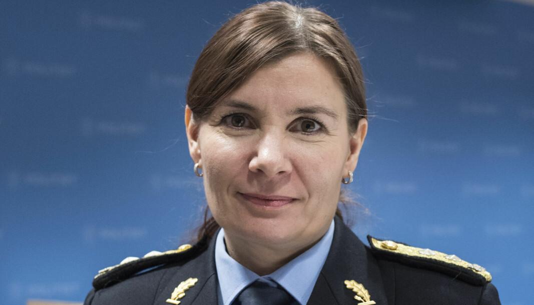 FORNØYD: – Jeg synes at det er veldig bra. Det å styrke rettssikkerheten til samiske barn er ikke en dag for tidlig, sier politimester Ellen Katrine Hætta.